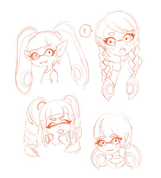 Customizable Hair Page 2 Squidboards