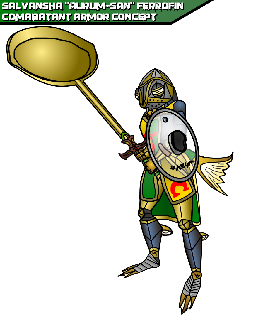 Aurum-San Combat Armor Concept.png