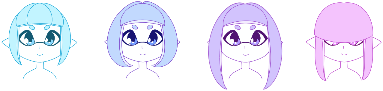 Inkling Hairstyle Resource Sheet Squidboards