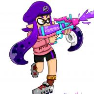 Neon the squid
